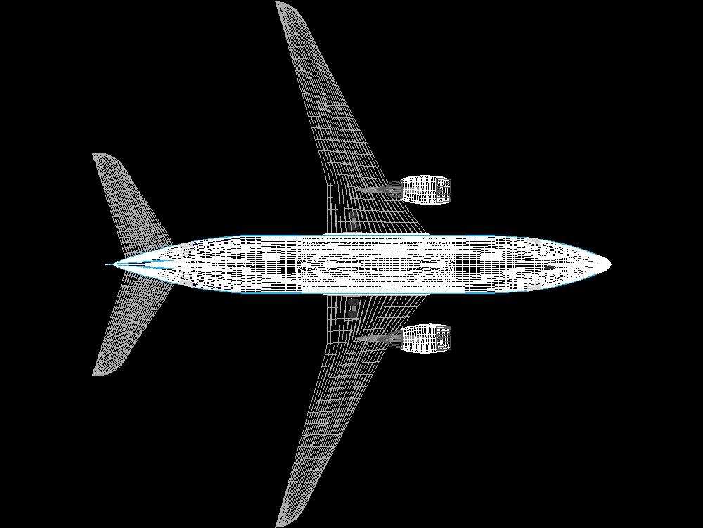 Boeing 737 in AutoCAD | CAD download (1 07 MB) | Bibliocad