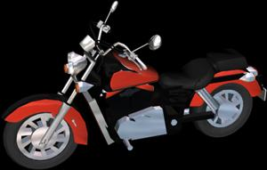 Motorbike Honda Shadow