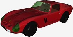 AUTOMOVIL FERRARI 250 3D