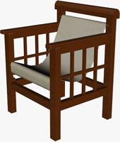 Chair design 3d
