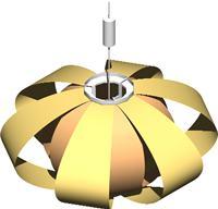 Lámpara Coderch 3D