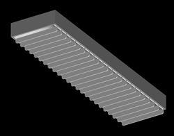 lampara fluorescente 3D