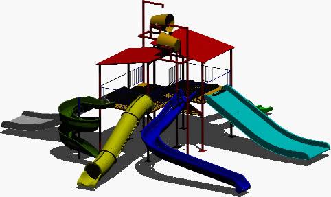 Juegos infantiles en 3D