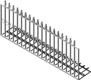 Rail in 3D