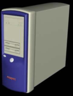 Cpu Compaq 3D con materiales