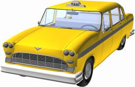 Car Taxi 3D
