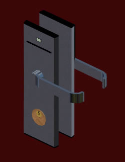 Electronic classic lock manufactured for ving card (63 47 KB