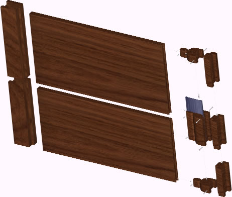 Door neoprenoin 3d