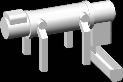 Decanter horizontal 3d