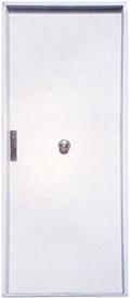 Door simple aluminium