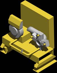 Compressor for acow