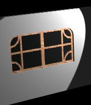 Facade window 3D