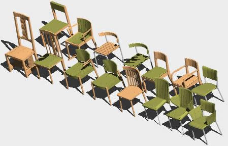 Chairs 3D