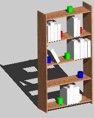 Biblioteca Pequeña 3D