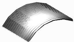 Metallic roof