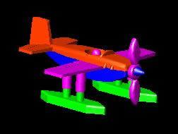 Avion de juguete 3d