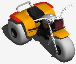 Trimotorbike  3D