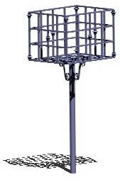 Moya garbage basket 3d