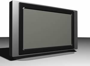 Panoramic screen of LCD