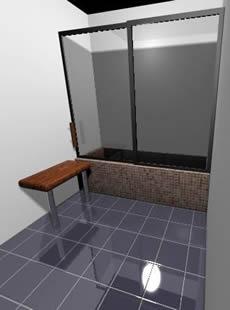 Room for shower