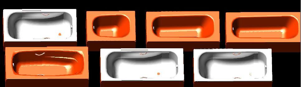 Bath tubs 3D