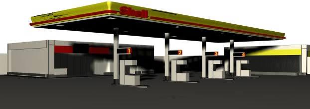 Shell petrlol station