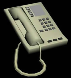 Telèfono 3d