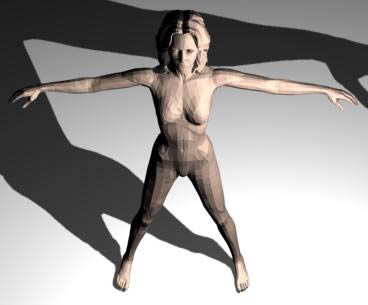 Mujer 3d