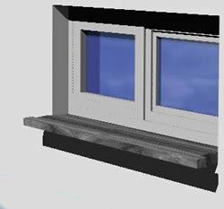 Window 150x160 - 3d