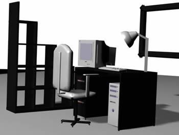 Despacho completo en 3d