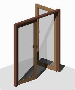 Double door 3D 2.10x2.00m
