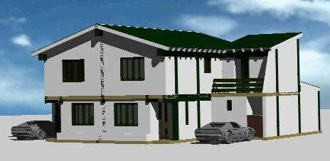 House four bedrooms - 3 bath rooms