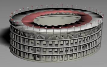 Coliseo romano 3d