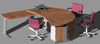 Mesa de trabajo 3d