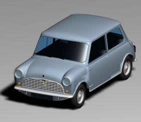 Mini  Austin 3D