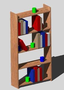 Librero 3d