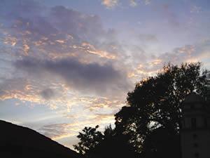 Sky nightfall 1