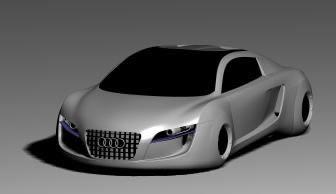 Auidi Car 3d