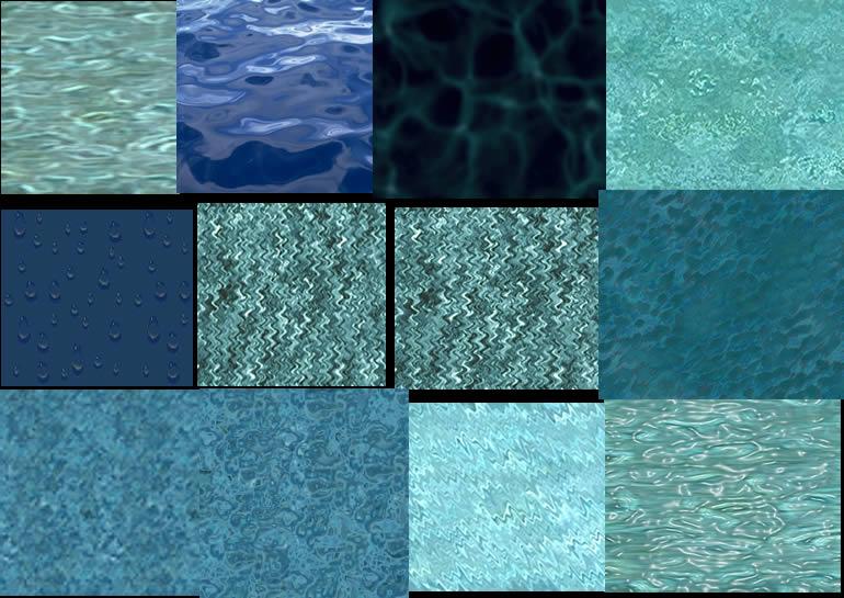 Texturas de agua