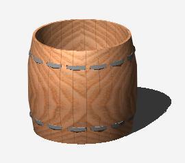 Barril 3D