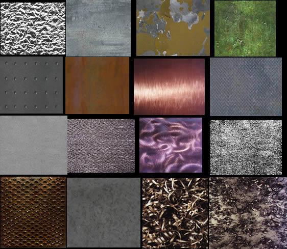 Imagenes de texturas de metales
