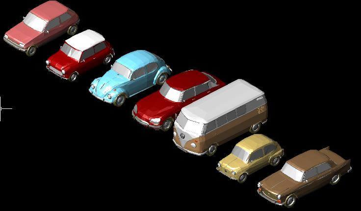 Cad Block Classic Cars