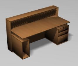 3d Reception Furniture
