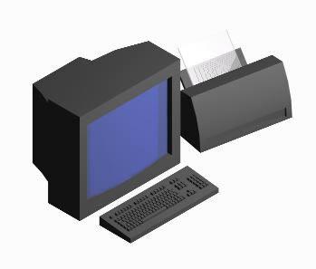 Computadora  3d