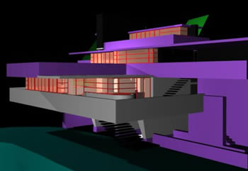 Falling water 3d in MAX | Download CAD free (1 56 MB) | Bibliocad