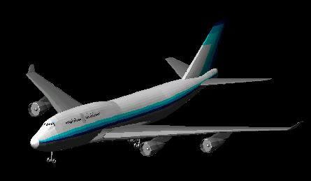 3d boeing 747 - 400