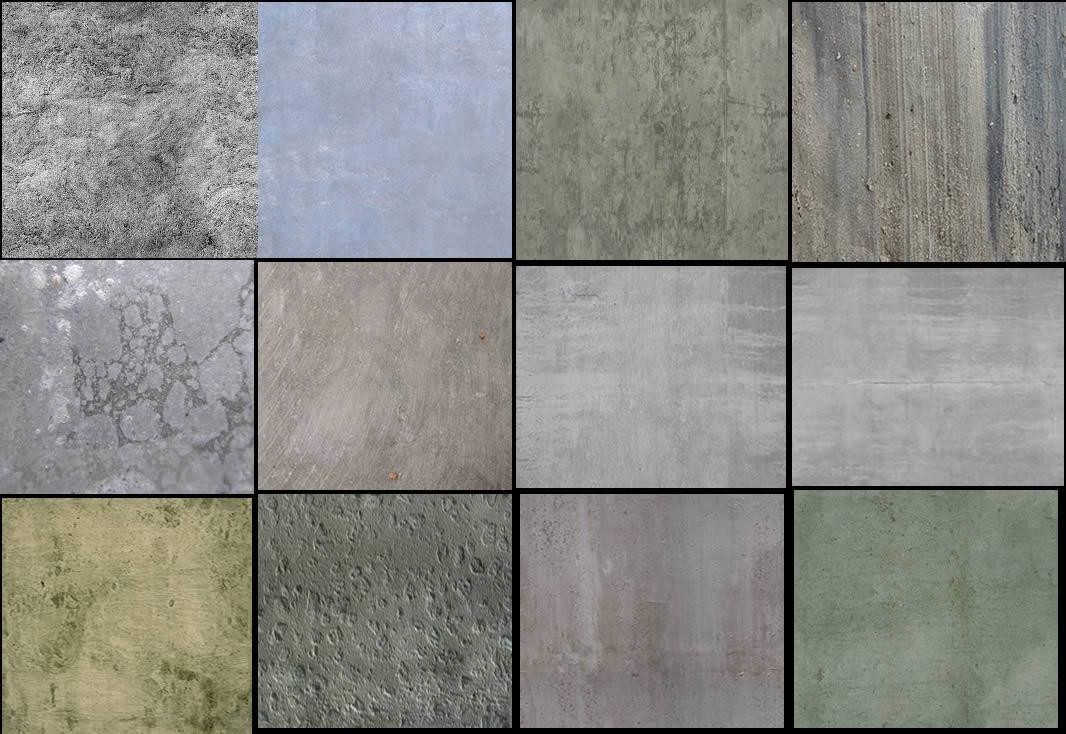 Texturas  De Hormigon