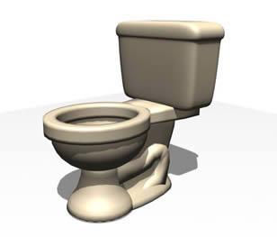 Toilets - 3d