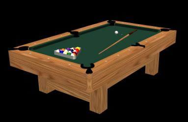 Mesa de pool 3d