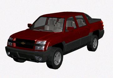 Chevrolet Avalanche 3d